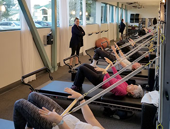 Pilates at Redwood Club